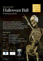 Lexacom Digital Dictation sponsors London Legal Support Trust Halloween Ball